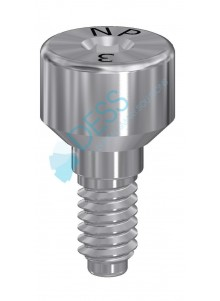 Healing Abutment compatible with Zimmer Screw-Vent®