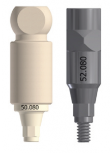 Scan Abutment compatible with Medentis® ICX